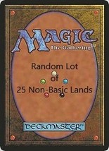 Random Lot of 25 Non-Basic Land Magic The Gathering Cards - $14.99