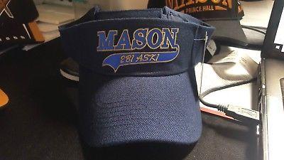 1b29708310d10 Freemason Masonic Mason Sun Visor Masonic Freemasonry Fraternity 2B1ASK1  Visor