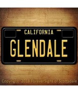 Glendale California City/State/College Vanity Aluminum License Plate Tag... - $12.82