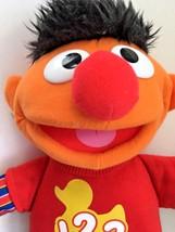 "2010 Sesame Street 14"" Plush Stuffed 123 Counting Ernie Talking Singing ... - $11.09"