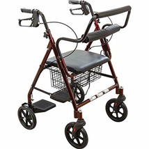 ProBasics Transport Rollator Walker with Seat and Wheels - Folding Walker - $185.24