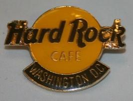 "Hard Rock Cafe Washington DC Pin Collectible 1 1/2"" Gold Tone - $17.46"