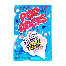 POP ROCKS COTTON CANDY, PACK OF 12 POP ROCKS - $16.52