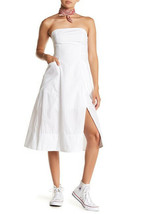 Free People Womens Sunshine Of Your Love OB586777 Dress Relaxed White Size US 4 - $72.85