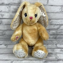 Build a Bear Workshop Tan Yellow Bunny Rabbit Stars Jointed Legs Moves P... - $20.21