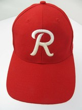 Letter R Team Logo? Red White Snapback Adult Cap Hat - $13.56