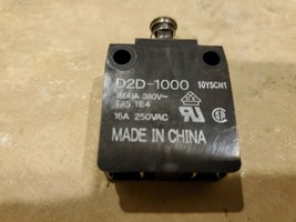 Omron D2D-1000 Basic Switch 16A 250VAC - $25.00