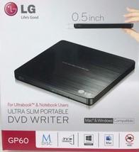 LG - gp60nb50 - fin portable enregistreur dvd graveur de ext 8x USB DVDR... - $35.58