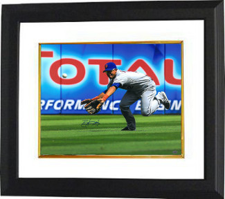 Primary image for Juan Lagares signed New York Mets 16x20 Photo Custom Framed (diving catch)