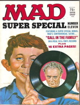 Mad Magazine Super Special #11 Missing Gall In The Family Record 1974 FINE - $4.99
