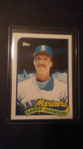 1989 Topps Traded Randy Johnson Seattle Mariners - $1.59