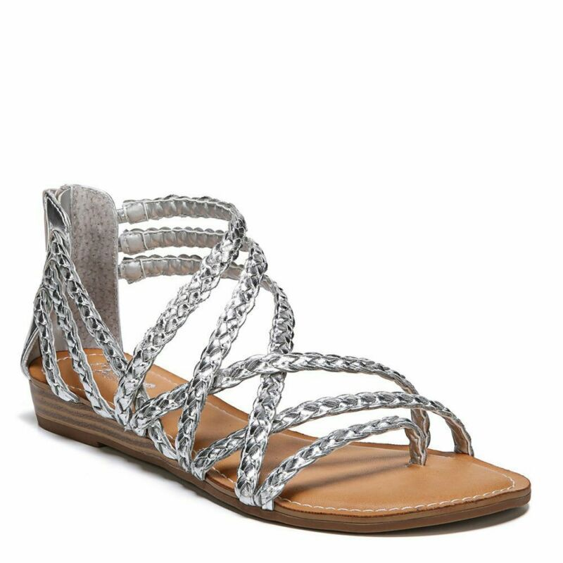 Carlos By Carlos Santana Womens Amarillo Open Toe Casual Strappy Sandals