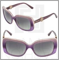 BVLGARI INTARSIO 8146-B 5337/11 Poetic Pink Burgundy Sunglasses BV 8146 - $208.00
