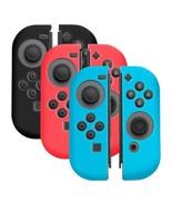 3 Pairs Anti-Slip Joy-Con Silicone Rubber Case Skin Cover for Nintendo S... - $12.40