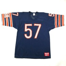 Vintage 90s Chicago Bears #57 Olin Kreutz Mens L Football Jersey Blue Or... - $233.75