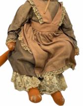 "Vintage Michael Berger Figure Figurine Art Sculpture Orange Cat Doll 21"" image 5"