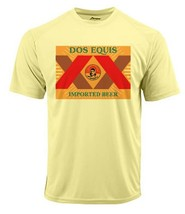 Dos Equis Dri Fit T-shirt moisture wicking sun protection SPF 50 beer tee image 2