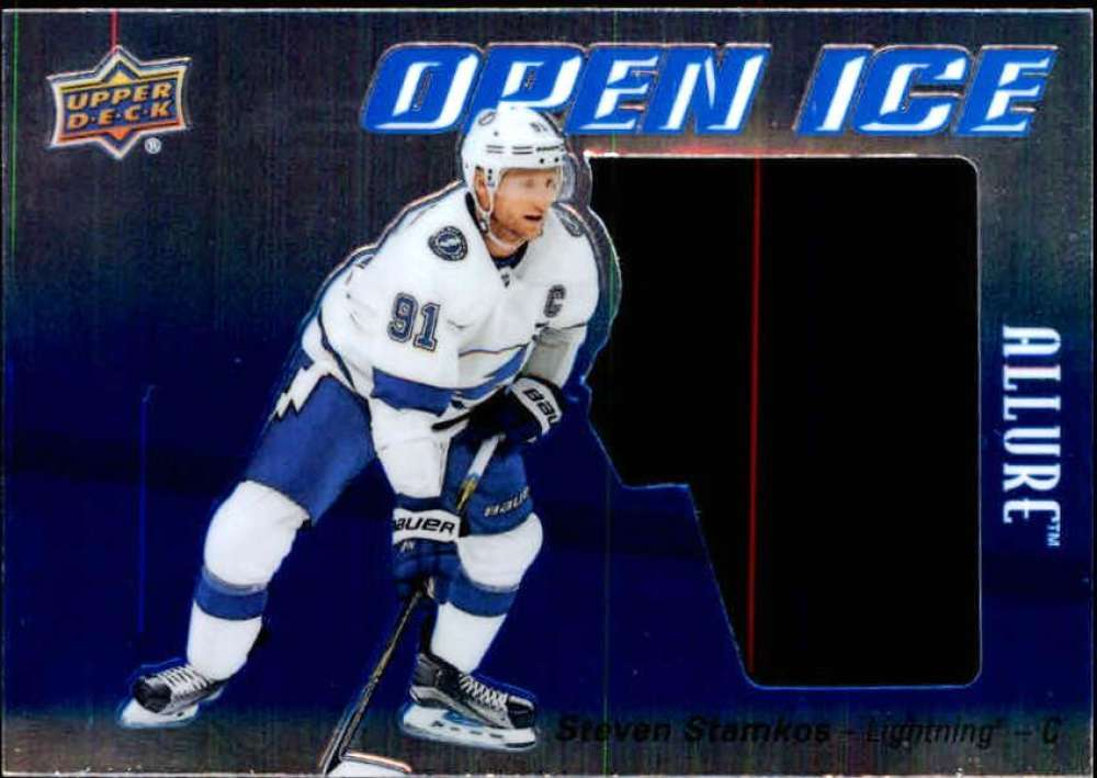 Primary image for 2019-20 Upper Deck Allure Open Ice #OI-SS Steven Stamkos Lightning