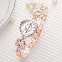 Lvpai® Watch Women Fashion Luxury Bracelet Silver Rose Gold Rhinestone Creative image 4