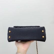 100% AUTH CHANEL SMALL COCO HANDLE BAG BLACK CAVIAR GHW image 4