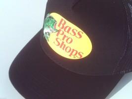 NEW! Black Cap by BASS PRO SHOPS Adult Unisex MESH Style Trucker Hat - $22.72