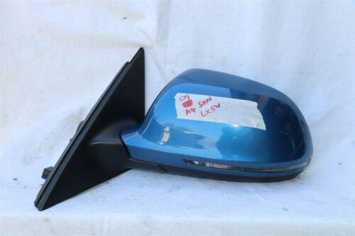 09 Audi A4 Sedan Sideview Power Door Wing Mirror Driver Left - LH