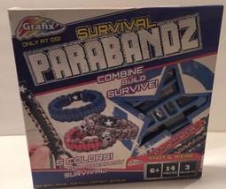 Grafix Survival Parabandz Bracelet Making Kit New - $3.96