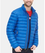 Tommy Hilfiger Men's Down Quilted Packable Logo Jacket New Royal - $97.50