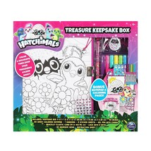 NEW Hatchimals Decorate Your Own Treasure Keepsake Lock Box By Spin Mast... - $19.27
