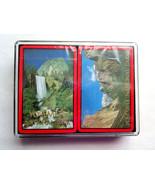 Vintage Yosemite National Park Playing Cards in Plastic Box -2 Sealed Decks - $8.99
