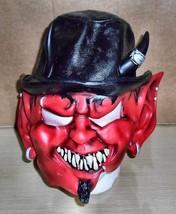 2005 Disguise Co. Devil (Big Ears & Hat) Latex Mask - $18.80