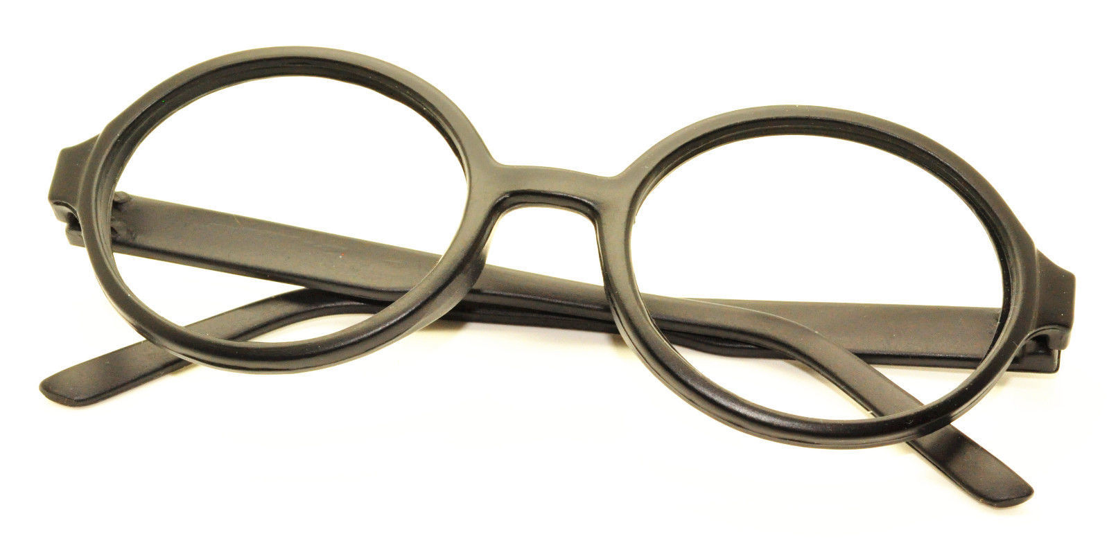 Geek Nerd Style Oval Round Shape Style Glasses Frames NO LENS Wizard Costume image 10