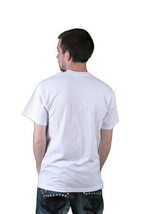 Milkcrate Athletics Mens Bummy White Gold T-Shirt NWT image 2
