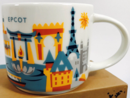 Starbucks Disney EPCOT Version 3 You Are Here Collection Coffee Mug NEW ... - €31,61 EUR