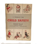 Metropolitan Life Insurance Child Safety Book Vintage Advertising Baby B... - $22.76