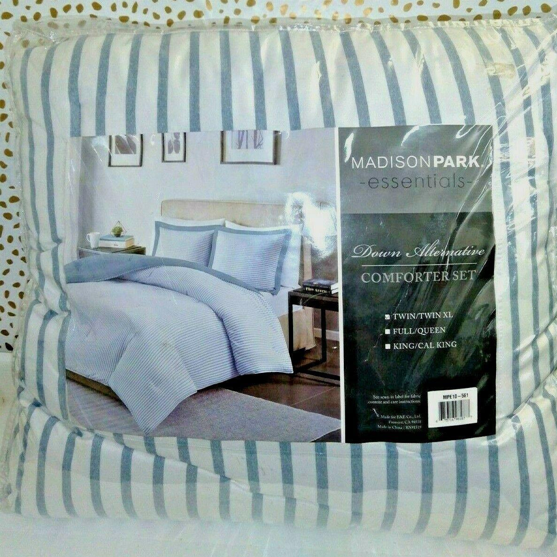 Madison Park Essentials Hayden 2-Pc Reversible Comforter SET BIG SET NOT A DUVET