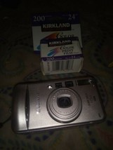 Canon Sure Shot 115u 38-115mm Point & Shoot Film Camera  Used not tested... - $12.08