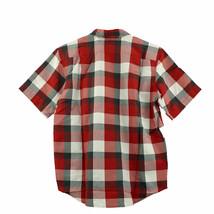 NEW Orvis Men's Short Sleeve Woven Tech Shirt - Red Plaid image 2