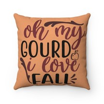 I Love Fall Faux Suede Pillow - Orange - $31.05+