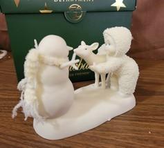 Dept 56 Snowbabies Snowbaby 2004 DEER FRIENDS 69443 Retired 2010 - $18.00