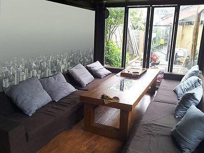 Motiv Fußboden 3d ~ D nebel über der stadt fototapeten and similar items