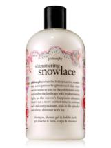 Philosophy Shimmering Snowlace 3 in 1 Shampoo Shower Gel Bubble Bath 16 Oz New - $20.00