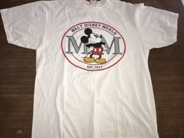 Vintage Walt Disney World Made In Usa Xl T Shirt Mickey Mouse Nwt New Tags - $28.50