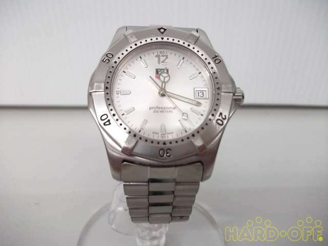 Tag Heuer Professional 200M Mk4349 Wk1112 Quartz Analog Watch