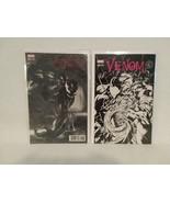 VENOM #1: DELL'OTTO BLACK & WHITE VARIANT + #6 BAGLEY MEGACON - FREE SHI... - $46.75