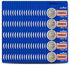 Murata CR2032 Battery 3V Lithium Coin Cell - Replaces Sony CR2032 (100 B... - $27.99