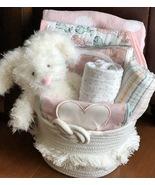 Bianca Bunny Baby Gift Basket - $69.00