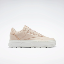 Reebok Classics Womens Club C Double GEO leather Shoes neutral - $117.34