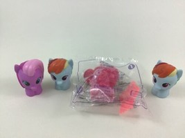 My Little Pony Playskool Figures Pinkie Pie Rainbow Dash 4pc Lot Hasbro  - $11.83