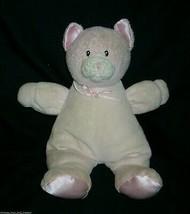 "10"" GUND BABY DOTTIE DOTS KITTY CAT RATTLE PINK GIRL STUFFED ANIMAL PLUS... - $18.70"
